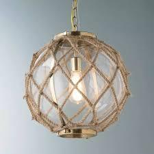 nautical rope home decor beach house pendant lighting