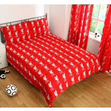 Liverpool Fc Bedroom Accessories Liverpool Fc Single And Double Duvet Cover Sets Bedroom Bedding Ebay