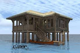 Modern Home Plan PODIHOMEHouse Plans On Stilts