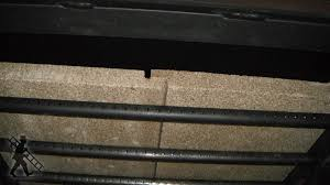 fireplace baffle insulation