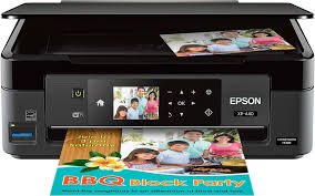 Epson Expression Home Xp 440 Wireless All In One Printer Black