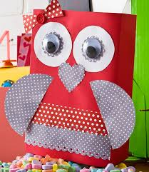How To Decorate A Valentine Box Whoo Will Be Mine Valentine Holder Cereal Craft and Box 89
