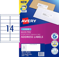 Print Address Labels Quick Peel Address Labels With Sure Feed 959004 Avery
