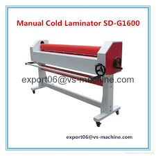 manual cold laminator sd g1600