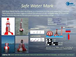 Safe Water Mark On Chart Iala Buoyage System And Visual Aids To Navigation