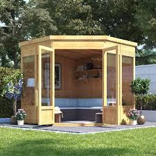 7x7 t g corner summerhouse