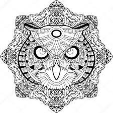 Kleurplaat Mandala Paard Kleurplaten Tekeningen