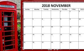 November Through November Calendars November Calendar Pdf 2018 Archives Printable Blank 2019 Calendar