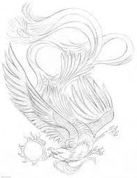 Pin Tattoo Style Sketch Of A