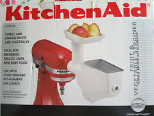 kitchenaid vegetable strainer. kitchenaid food grinder/mincer and fruit/vegetable strainer attachment kitchenaid vegetable