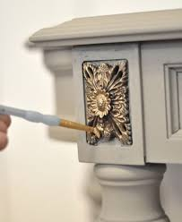 centsational girl painting furniture. How To Paint A Console Using Chalk Paint™ Decorative And Add Gilded Highlights. Rub N Buff Centsational Girl Painting Furniture