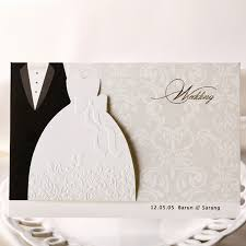 popular evening wedding invitations buy cheap evening wedding Buy Evening Wedding Invitations 100pcs lot wedding invitations cards groom and bride evening dress free printable invitation card for Luau Wedding Invitation Templates