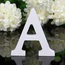 decorative wooden letters handmade