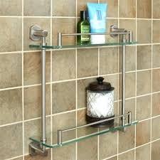 extraordinary glass shower shelf bathroom shelves glass wood and marble shelves signature hardware tempered glass shelf two shelves glass shower bunnings
