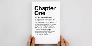 This Book Collects The First Chapters Of Novels Ad Creatives