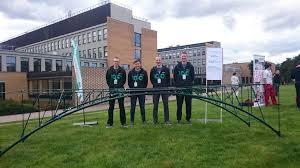 Ttk Uas Team Represented Estonia In Brico Steel Bridge Competition