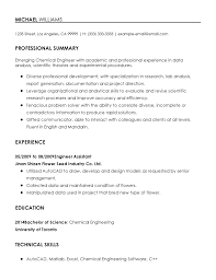 Analytical Skills Resumes Professional Chemical Engineer Templates To Showcase Your