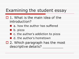 practice of english composition ppt video online examining the student essay