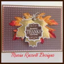 Fall-Thanksgiving Card-Stampin Up