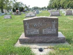 Bessie L Wise Wolf Ricklefs (1904-1989) - Find A Grave Memorial