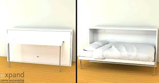 Diy Murphy Bed Desk Bed Desk The In Is A Horizontally Opening Twin
