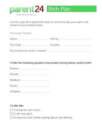 C Section Birth Plan X Birth Plan Template Printable Top Result Best Of Section