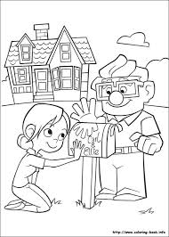 Pixar up house drawing at getdrawings #2494429. Up Coloring Picture Disney Coloring Pages Coloring Books