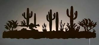 lovable improbable southwest wall art decor southwest wall art decor desert cactus southwest scene back lit