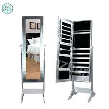 makeup storage furniture new luxury large wooden standing jewelry with mirror vanity for organizer drawers