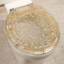 gold flake toilet paper. gold foil toilet seat clear. click to expand flake paper e