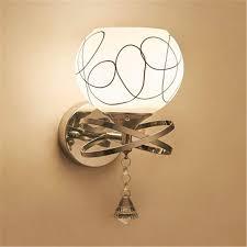 Wandbeleuchtungled Crystal Wand Lampe Am Bett Schlafzimmer Modernen