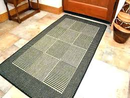 small kitchen rugs cotton rag rug welcome mat bathroom chic washable ideas