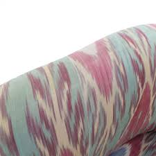 ikat accent chair. Perfect Accent Custom Uzbek Ikat Silk Print Accent Chair On Sale Intended