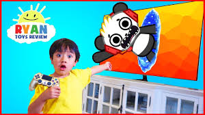 Ryan And Combo Panda Jumped Into The Tv New Gaming Channel Vtubers