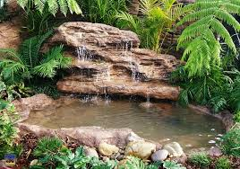 waterfall garden pumps fish pond waterfalls how to buildgarden pond waterfall