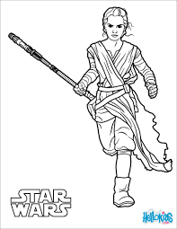 Small Picture Rey the force awakens coloring pages Hellokidscom