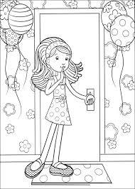 Kleurplaat Groovy Girls Animaatjesnl