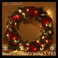 as part of my decorating this year i wanted a big lighted wreath to hang