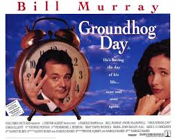 「the movie Groundhog Day starring Bill Murray」の画像検索結果