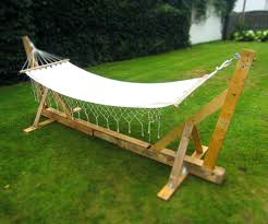chair hammocks stand hammock stand homemade and pallets glamorous wood plans indoor making portable easy swing chair stand uk