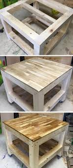 reclaimed wood pallet bench. Recycled Pallet Coffee Table Reclaimed Wood Bench