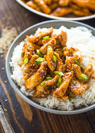 asian chicken dinner recipes. Modren Recipes 20 Minute Healthier Sesame Chicken On Asian Dinner Recipes Y