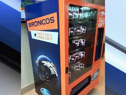 Healthy Vending Machines Denver Fascinating Broncos Are First NFL Team To Debut Bud Light Twitter Vending