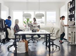Ikea small office Build Your Own Ikea Business Range Of Sitstand Desks Rollabe Storage Units And Shelving Organisation Help Ikea Ikea For Business Ikea