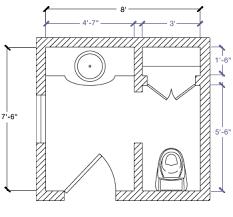 Floor Plan - 7'-6