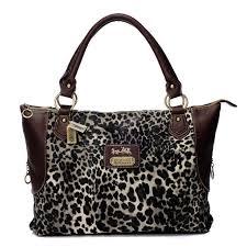 Coach  Purses Fashionable And Cheap Coach Leopard Fur Large Coffee Totes  BAJ Lets Your
