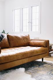 best  contemporary leather sofa ideas on pinterest