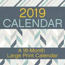 print a calendar 2019 large print 2019 wall calendar calendars com