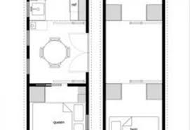 floor plans for tiny houses. 8 X 20 Tiny House Floor Plans On Wheels Design Picture For Houses O