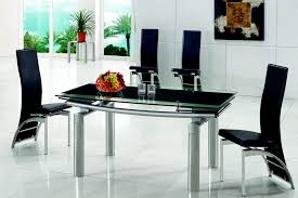 stunning extending glass dining table and chairs extending black glass dining table and 6 chairs set